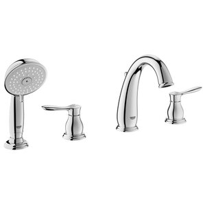 Good Parkfield Deck Mounted Roman Tub Faucet With Handshower