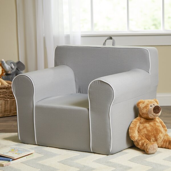 Fun furnishings personalized my comfy chair in light grey for Grey comfy chair