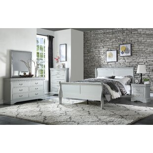 bowyer sleigh configurable bedroom set - Grey Bedroom Set