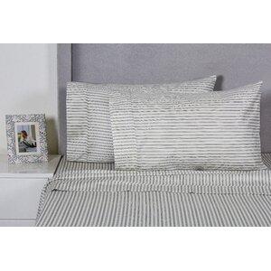 Stripe 400 Thread Count 100% Cotton Sheet Set