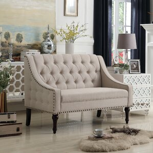 Christiansburg Tufted Loveseat by Alcott Hill