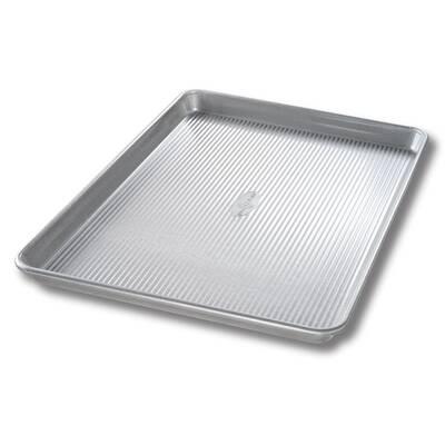 Usa Pan Bakeware Half Sheet Pan Made In The Perfect In Workmanship Warp Resistant Nonstick Baking Pan