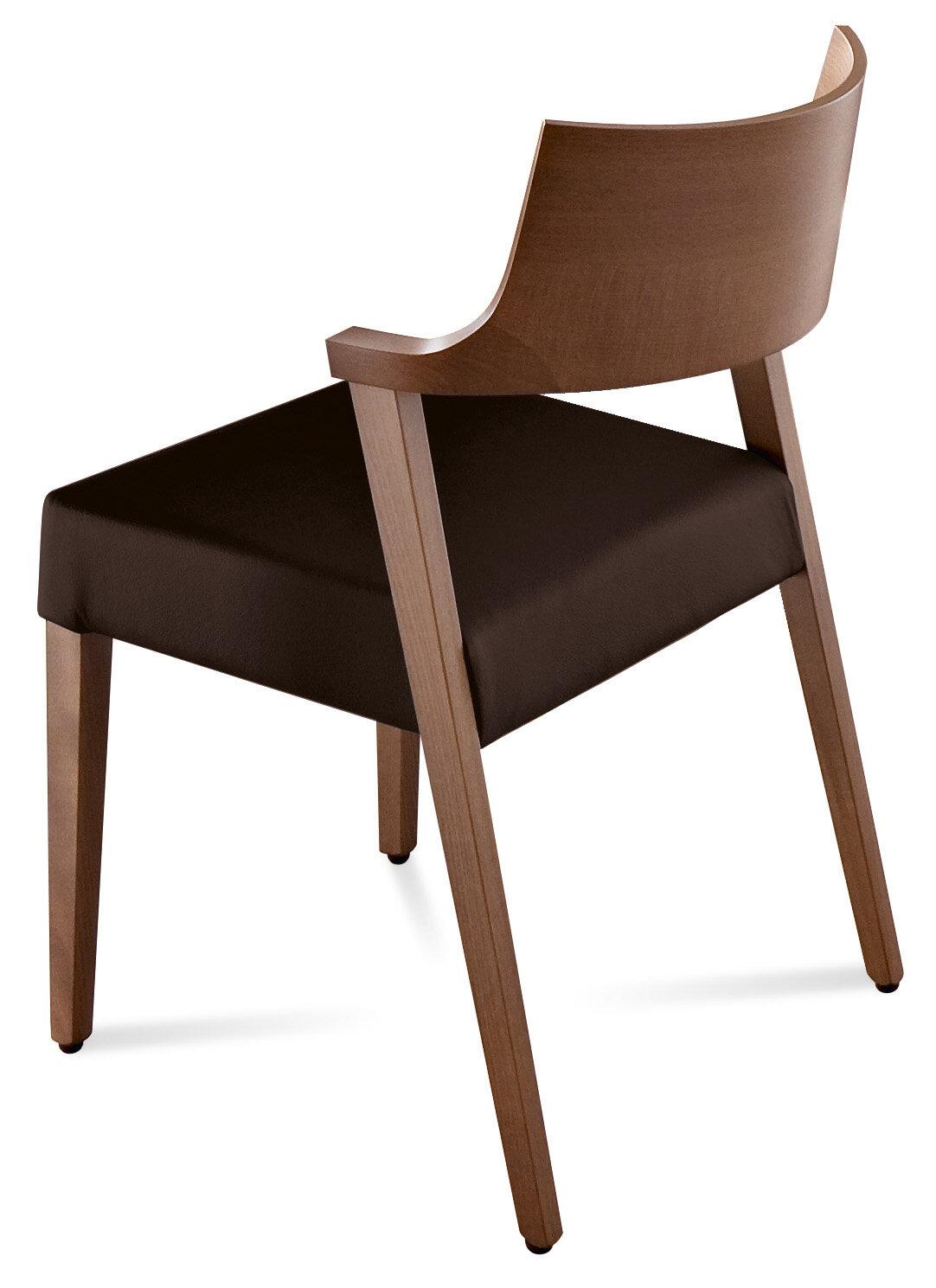 Domitalia lirica genuine leather upholstered dining chair reviews wayfair