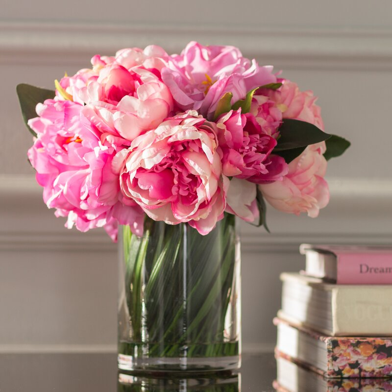 Willa Arlo Interiors Peony Bouquet Amp Reviews Wayfair