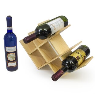 8 Bottle Tabletop Wine Rack