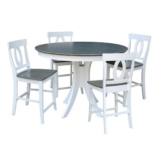 Mathew Counter Height 5 Piece Pub Table Set