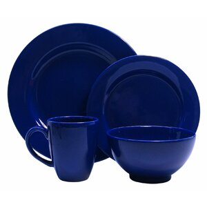 Chartridge 16 Piece Dinnerware Set, Service for 4
