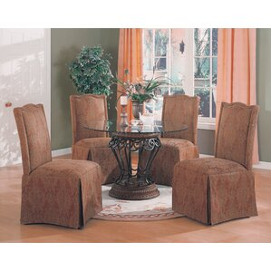 Burley Oak 5 Piece Dining Set by Alcott Hill