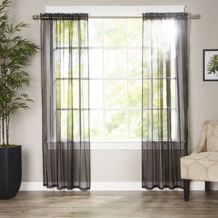 Favorite Black And Tan Curtains | Wayfair QQ43