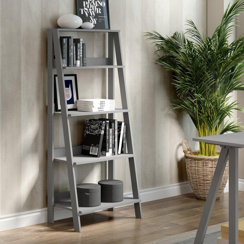 Gracie Oaks Brayton Ladder Bookcase Amp Reviews Wayfair Ca