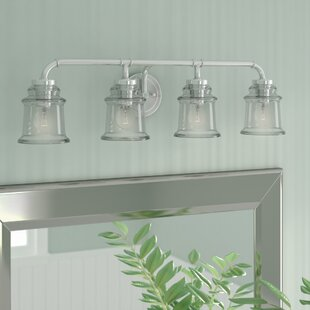 Brushed Nickel Bathroom Vanity Lighting Youll Love Wayfair - Satin nickel bathroom vanity light