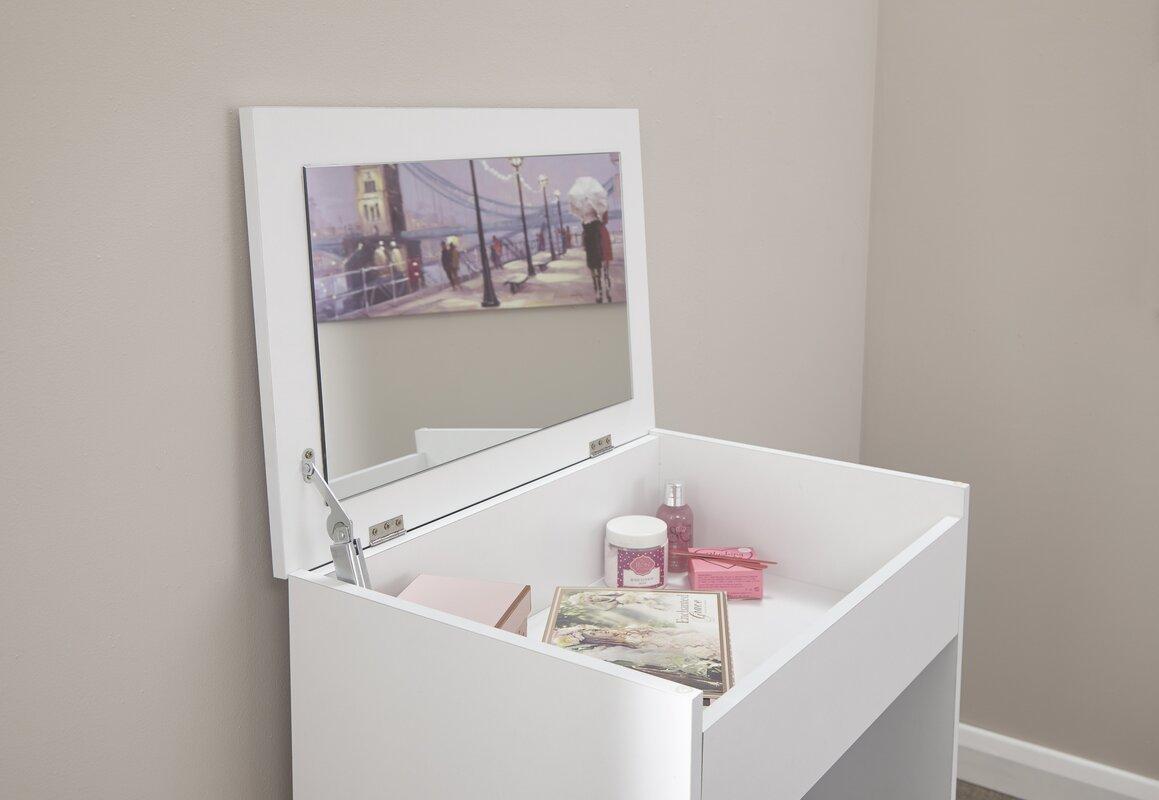 metro lane schminktisch set anna mit spiegel bewertungen. Black Bedroom Furniture Sets. Home Design Ideas