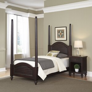 Harrison Four Poster 2 Piece Bedroom Set
