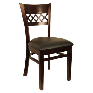 Lattice Back Solid Wood Dining Chair