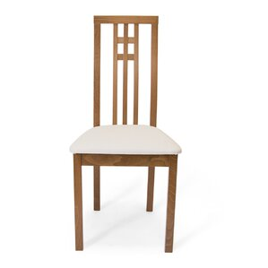 District Dining Side Chair in Beige Fabri..