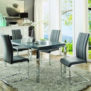 Athey 5 Piece Dining Set by Orren Ellis