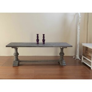 Alexa Wood Dining Table by Padmas Plantation
