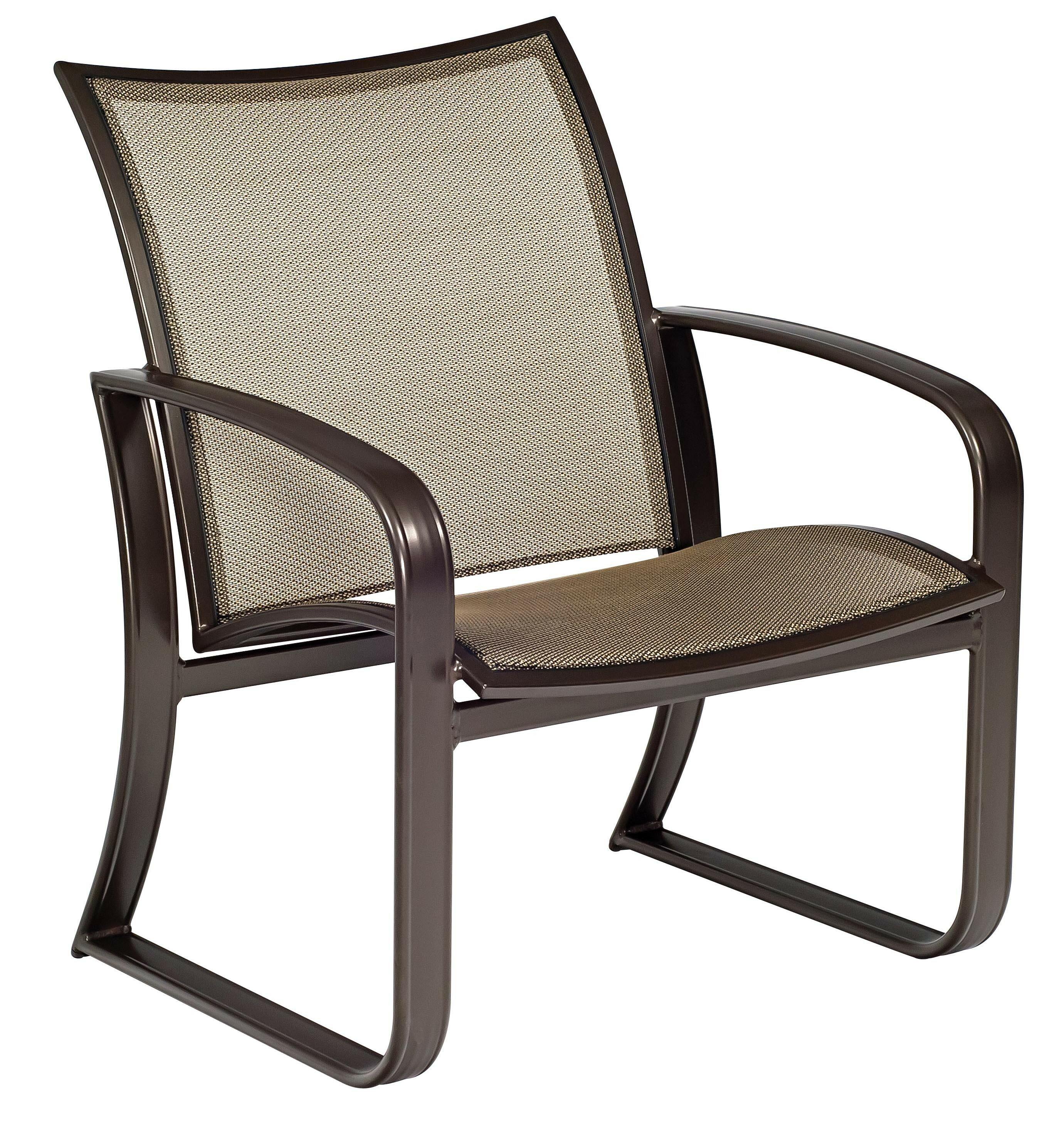 Woodard Cayman Isle Flex Patio Chair With Cushions Wayfair