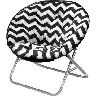 Chevron Saucer Papasan Chair