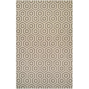 Atticus Hand-Woven Ivory/Gray Area Rug