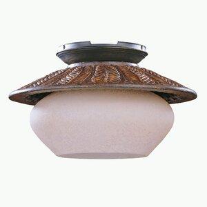 Fernleaf Breeze 1-Light Bowl Ceiling Fan Light Kit
