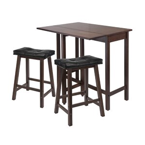 Bettencourt 3 Piece Dining Set by Red Barrel Stu..