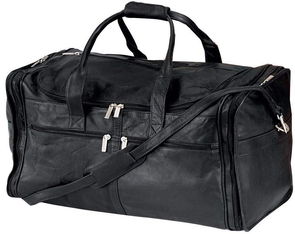 """22"""" Vaqueta Napa Leather Large Duffel"""