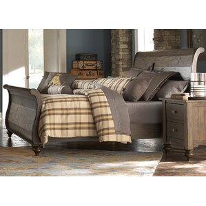 McCarthy Sleigh Bed by Darby Home Co