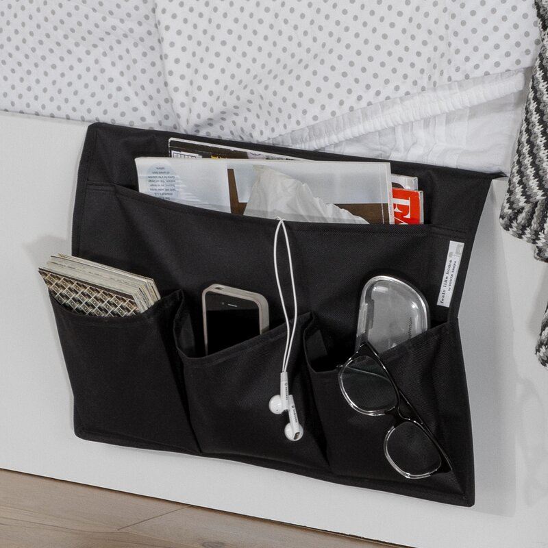 Bedside Storage south shore storit canvas bedside storage caddy & reviews | wayfair