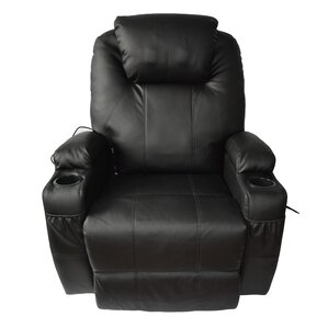 Leather Adjustable Massage Chair