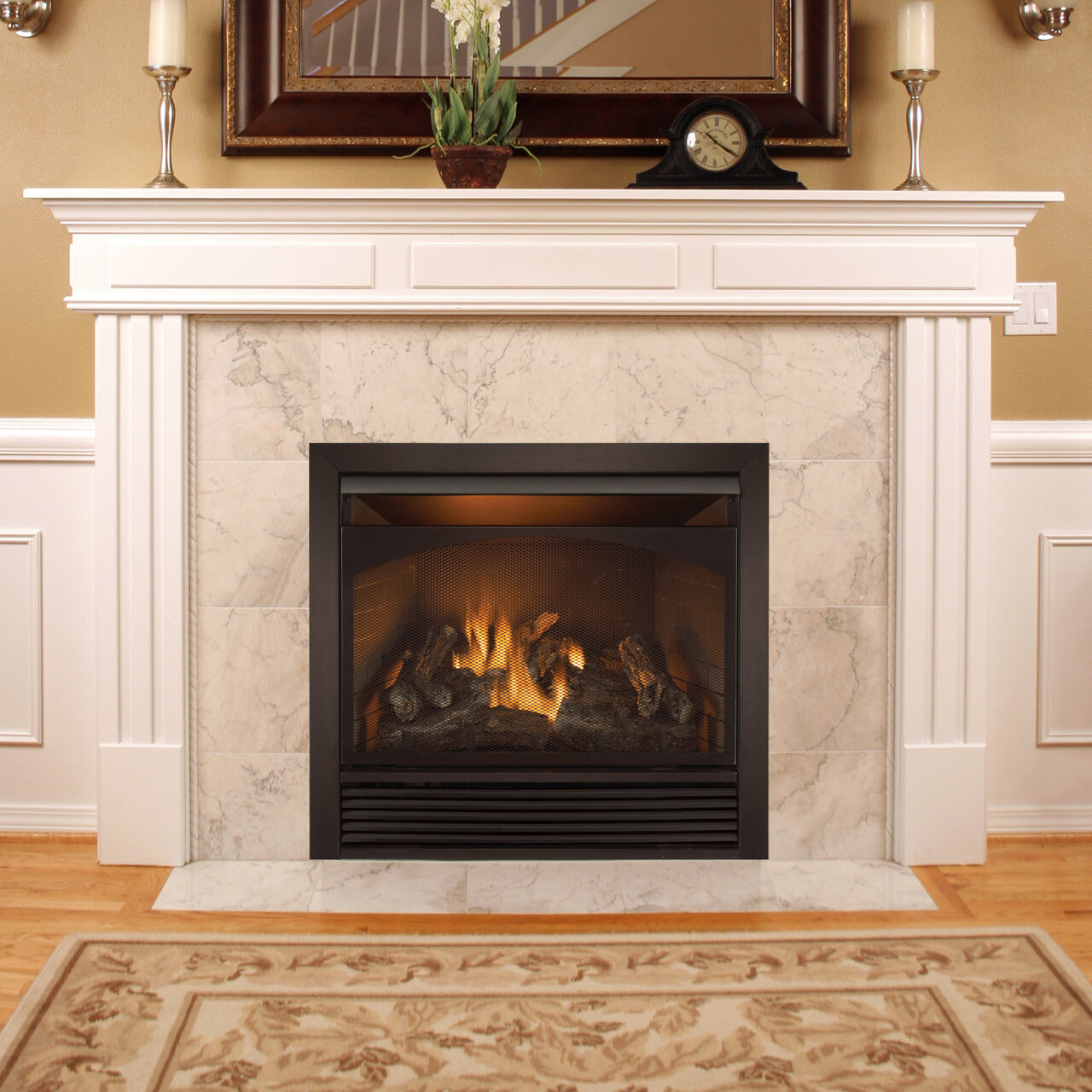 Shop Wayfair for the best corner ventless gas fireplace. Enjoy Free Shipping on most stuff