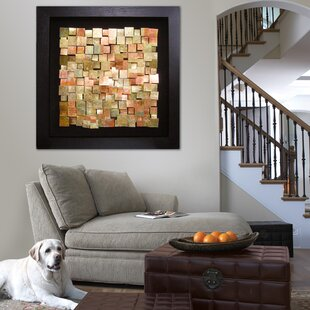 Copper Framed Graphic Wall Art