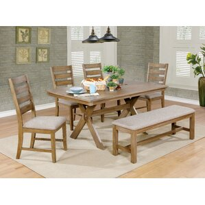 Absecon 6 Piece Dining Set by August Grove