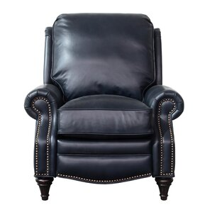Midbury Leather Recliner  sc 1 st  Wayfair : turquoise leather recliner - islam-shia.org