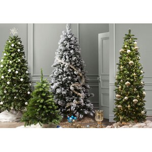 spruce artificial christmas tree with clear lights - Metal Christmas Tree
