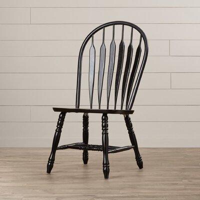 Jaida Comfort Back Dining Chair August Grove Color: Antique Black