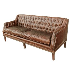 Pinesdale Leather Sofa by Loon Peak