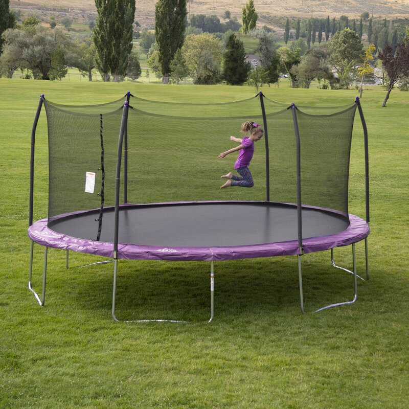 17 Best Ideas About Oval Trampoline On Pinterest: Skywalker 17' X 15' Oval Trampoline With Safety Enclosure