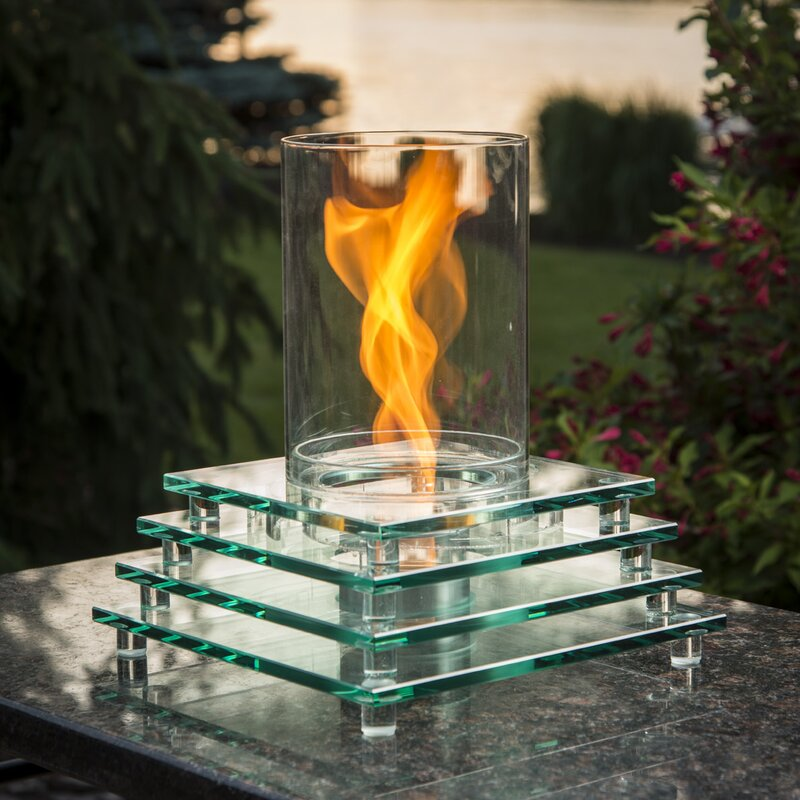 The Outdoor GreatRoom Company Harmony Gel Fuel Tabletop Fireplace ...