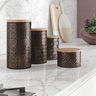 kitchen canisters jars you ll love wayfair rh wayfair com
