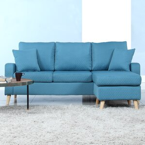 blue sectional sofas you ll love wayfair