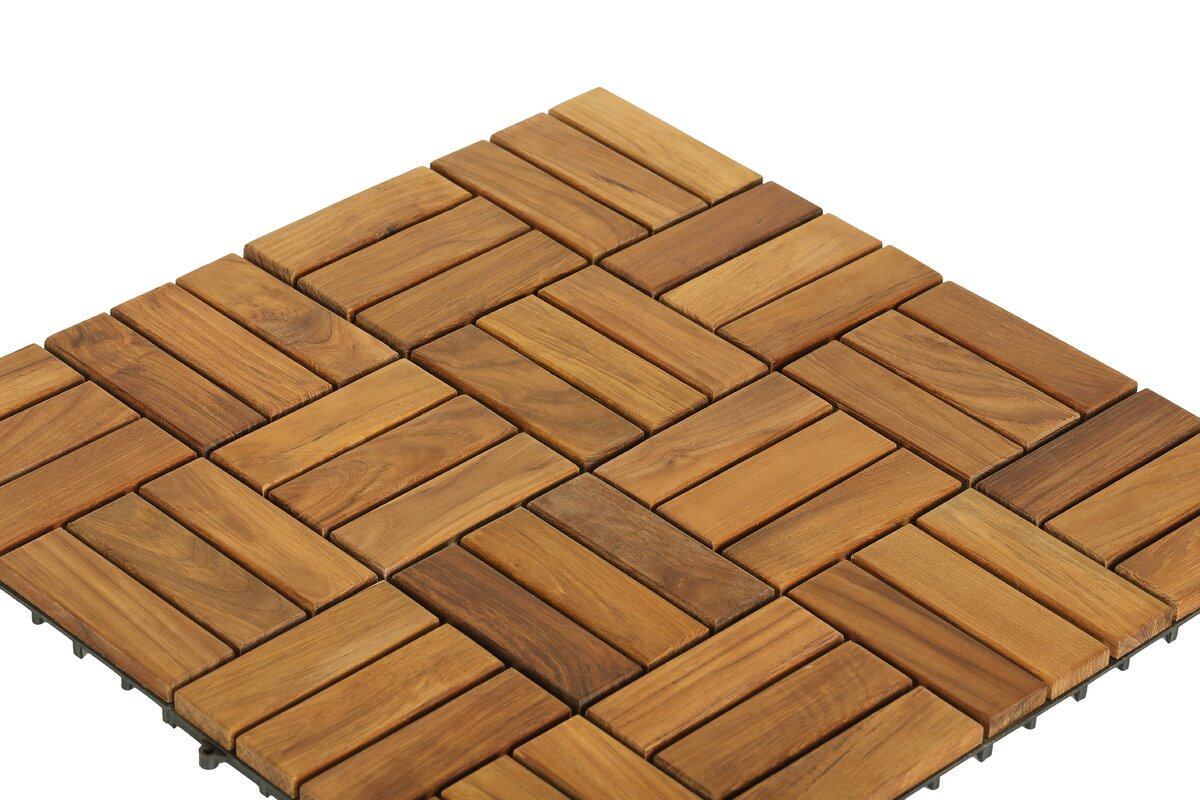 Bathroom Trim Ideas Baredecor Ez Floor Wood 12 Quot X 12 Quot Interlocking Flooring