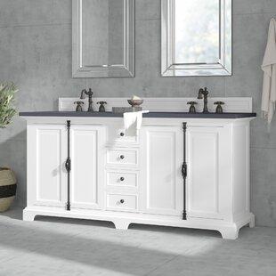 Beau Small White Bathroom Vanity | Wayfair