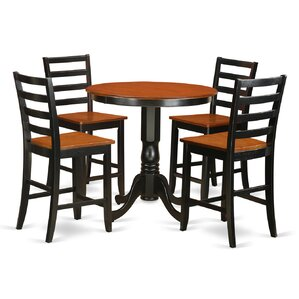 Jackson 5 Piece Counter Height Pub Table ..