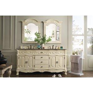 White Bathroom Drawers gray bathroom vanities you'll love | wayfair