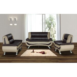 Living Room Leather Sofas New Leather Living Room Sets You'll Love  Wayfair Design Decoration
