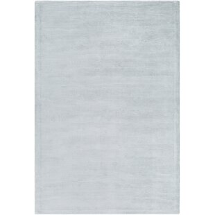 Aurora Hand Woven White Area Rug By Williston Forge