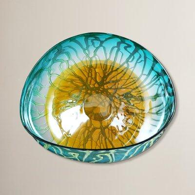 Latitude Run Schrader Modern Glass Art Wall Décor & Reviews   Wayfair