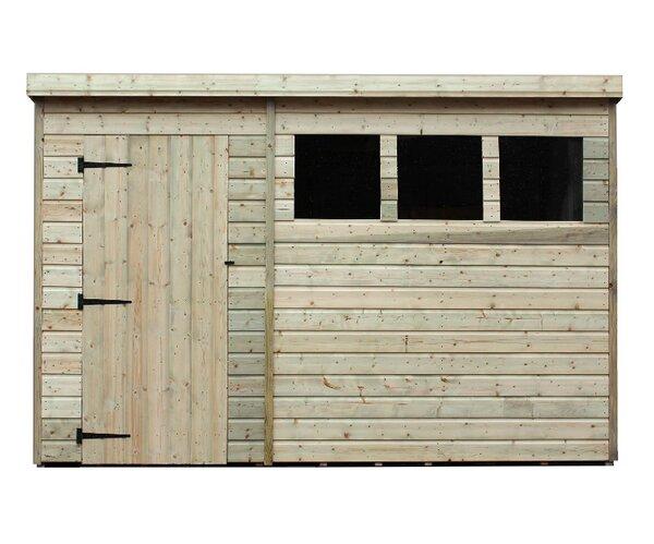 empire sheds ltd 10 x 6 wooden garden shed reviews wayfaircouk