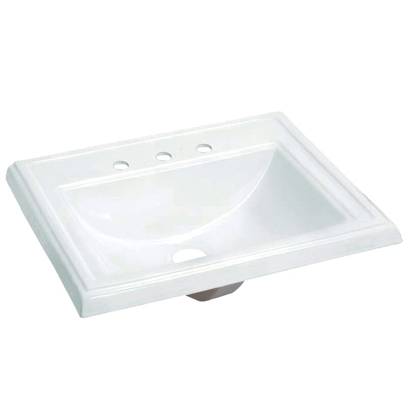 Chinese Kitchen Concord Ca: Kingston Brass Concord Vitreous China Rectangular Drop-In